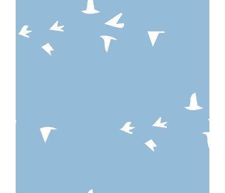 Roomblush Behang Fly with me blauw vliesbehang 1140x50cm