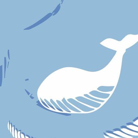 Roomblush Behang Be free blauw vliesbehang 1140x50cm