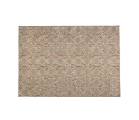 Zuiver Vloerkleed Grace beige textiel 230x160cm