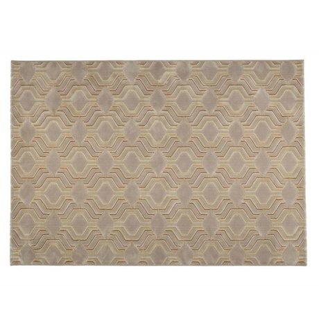Zuiver Vloerkleed Grace beige textiel 290x200cm