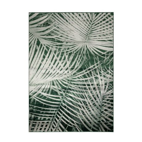 Zuiver Vloerkleed Palm by day groen textiel 240x170cm