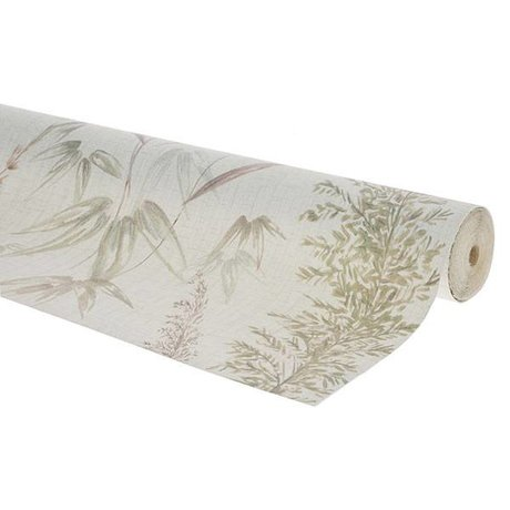 HK-living Behang vintage reed multicolour vliesbehang 0,53x10,05m