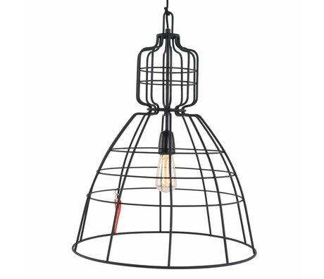 Anne Lighting Hanglamp Anne MarkllI zwart metaal ø43x68cm