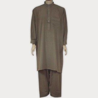 Salwar Kameez Men - Brown