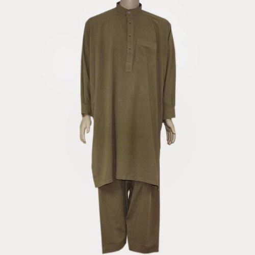 Salwar Kameez Men - Camel Brown