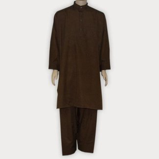 Salwar Kameez Men - Dark Brown