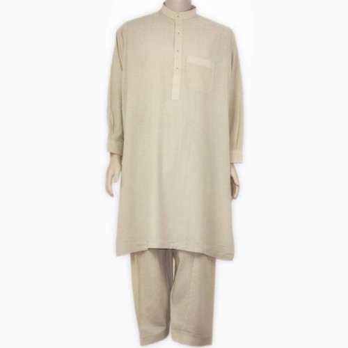 Salwar Kameez Men - Cream Beige
