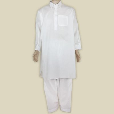 Salwar Kameez Men - Light Cream