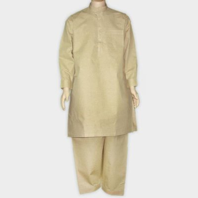 Salwar Kameez Men - Grey Brown
