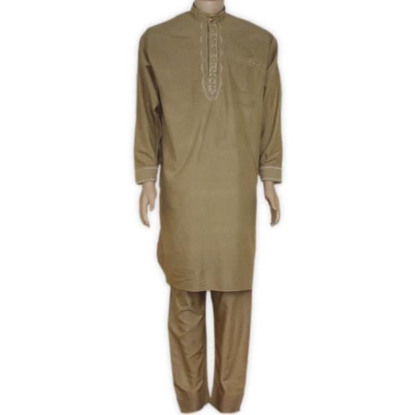 Salwar Kameez Men - Gold Brown
