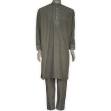 Salwar Kameez Men - Grey Brown