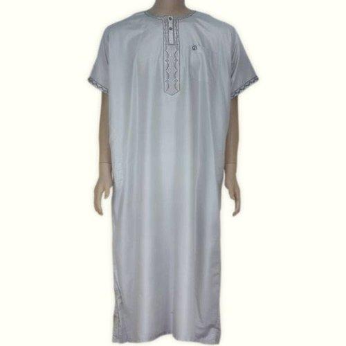 Arabischer Anzug Halbarm - Grau