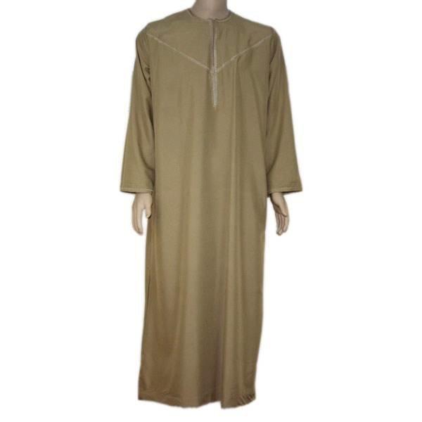Arabischer Anzug mit Stickerei in Braun