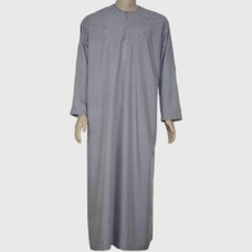 Arabischer Anzug mit Stickerei - Dunkelgrau