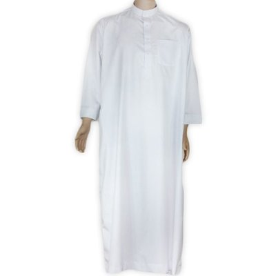 Arabic Galabiya in White