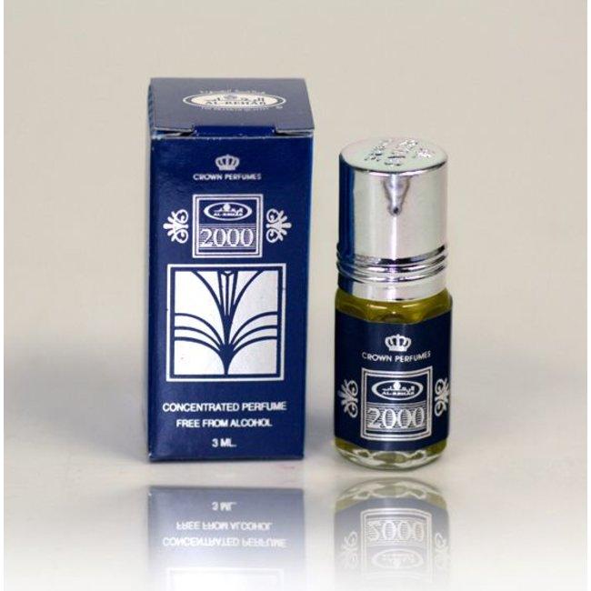 Al Rehab  Perfume oil 2000 by Al Rehab 3ml