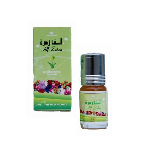 Al Rehab Perfumes Colognes Fragrances Alf Zahra Perfume Oil by Al-Rehab 3ml - Non-alcoholic perfume