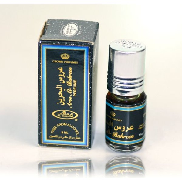 Al Rehab  Perfume oil Aros al Bahreen by Al Rehab 3ml - Free From Alcohol