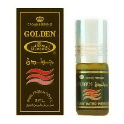 Al-Rehab Perfume Oil Golden by Al-Rehab - Alcohol-Free perfume