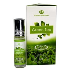 Al-Rehab Perfume Oil Green Tea by Al Rehab 6ml