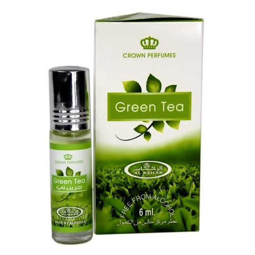 Al Rehab  Perfume Oil Green Tea by Al Rehab 6ml