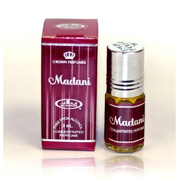 Al Rehab  Parfümöl Madani von Al Rehab 3ml - Parfüm ohne Alkohol