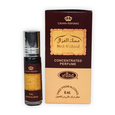 Al-Rehab Concentrated Perfume Oil Musk al Ghazal Al Rehab 6ml