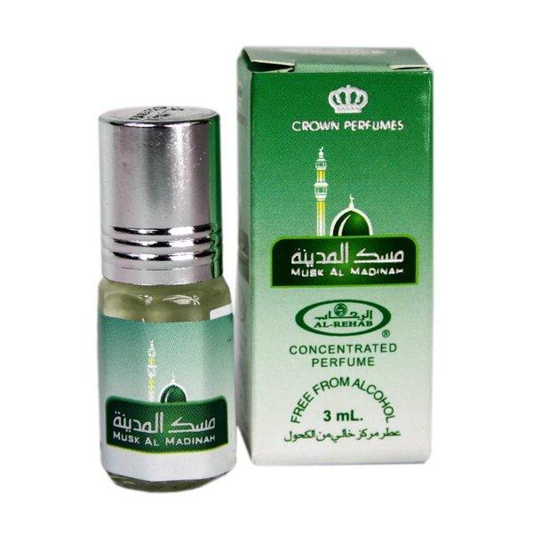 Al-Rehab Konzentriertes Parfümöl Musk al Madinah von Al Rehab