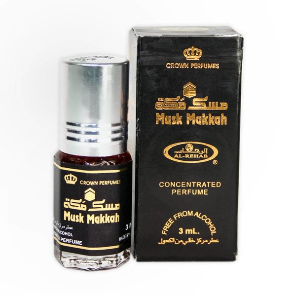 Al Rehab  Konzentriertes Parfümöl Musk Makkah von Al Rehab 3ml Parfüm ohne Alkohol