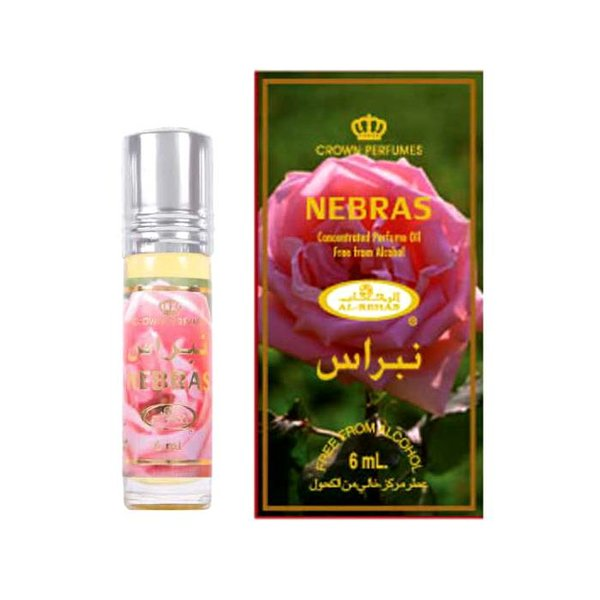 Al-Rehab Konzentriertes Parfümöl Nebras von Al-Rehab - Parfüm ohne Alkohol