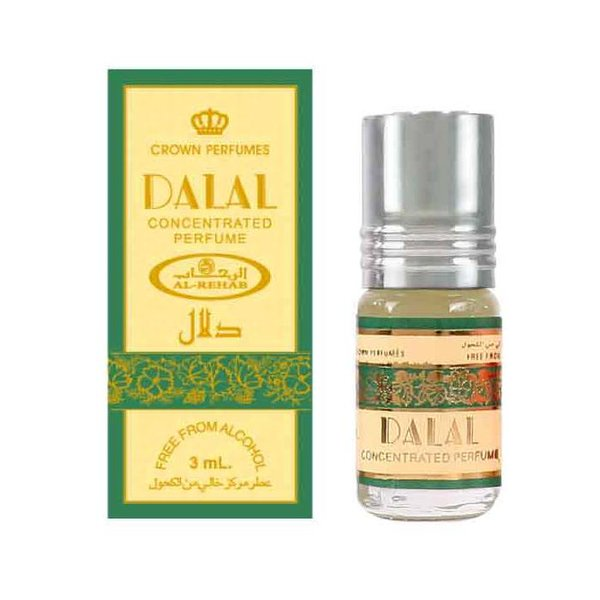 Al Rehab  Dalal Parfüm von Al Rehab - Konzentriertes Parfümöl ohne Alkohol