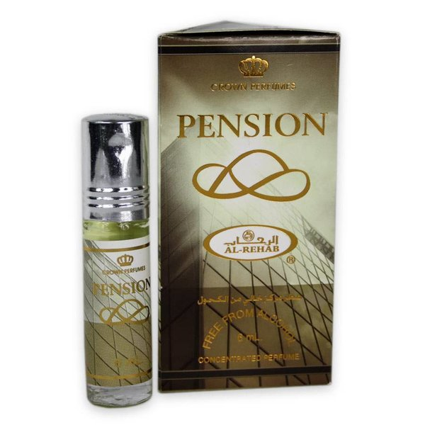 Al-Rehab Concentrated perfume oil by Al Rehab 6ml Pension