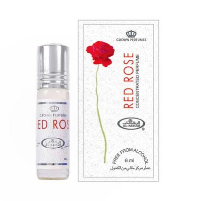 Al-Rehab Concentrated Perfume Oil Red Rose by Al-Rehab