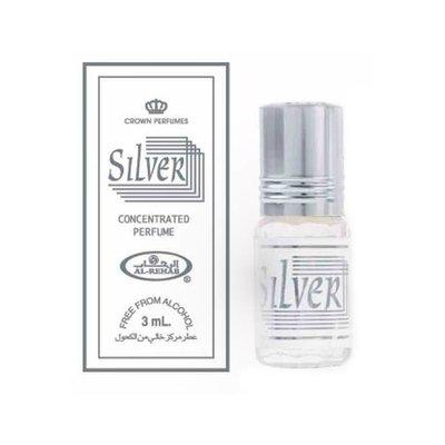 Al-Rehab Parfümöl Silver by Al-Rehab - Parfüm ohne Alkohol