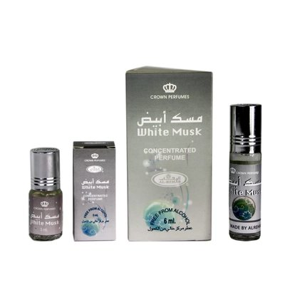 Al-Rehab Concentrated Perfume Oil White Musk by Al Rehab