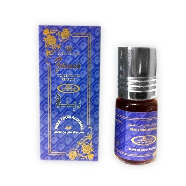 Al Rehab  Perrfume oil Zainah by Al Rehab 3ml
