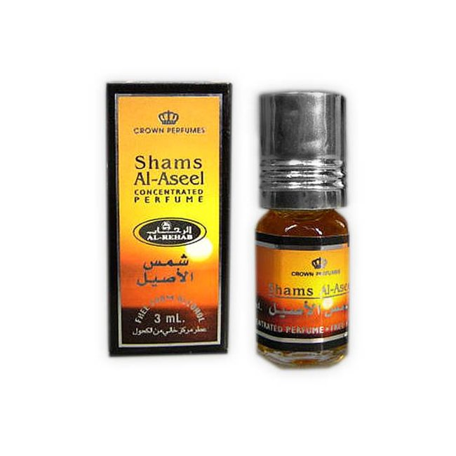 Al Rehab  Perfume oil Shams Al Aseel by Al Rehab 3ml