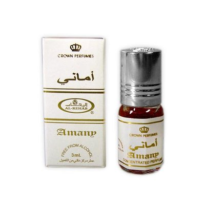 Al-Rehab Concentrated Perfume Oil Amany by Al Rehab 3ml - Perfume free from alcohol