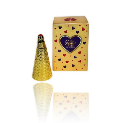 Afnan Concentrated Perfume Oil Sirr al Hub - Perfume free from alcohol