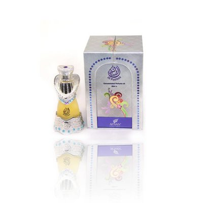 Afnan Concentrated Perfume Oil Al Fustan Silver - Perfume free from alcohol