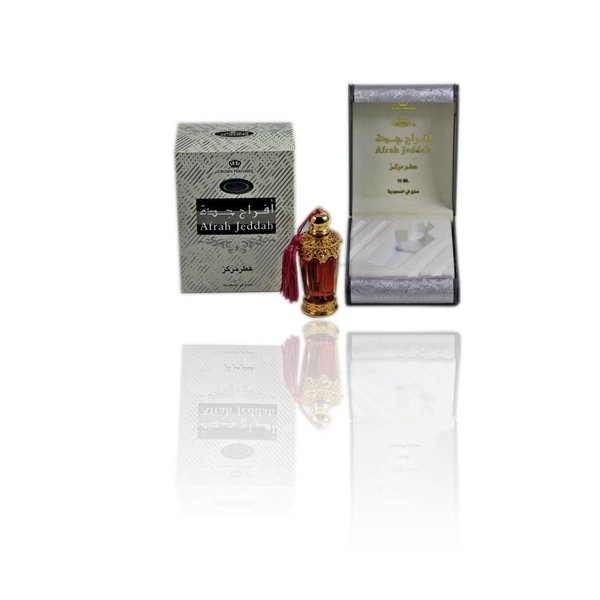 Al Rehab  Concentrated Perfume Oil Afrah Jaddah Al-Rehab - Perfume free from alcohol