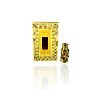 Al Haramain Concentrated Perfume Oil Mashaayer - Perfume free from alcohol