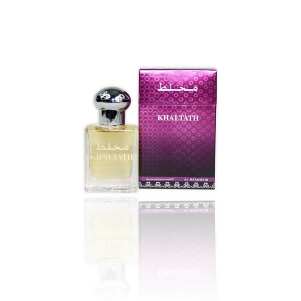 Al Haramain Concentrated Perfume Oil Khaltath - Perfume free from alcohol