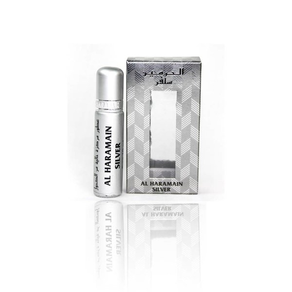 Al Haramain Perfume Oil Silver - Perfume free from Alcohol 10ml