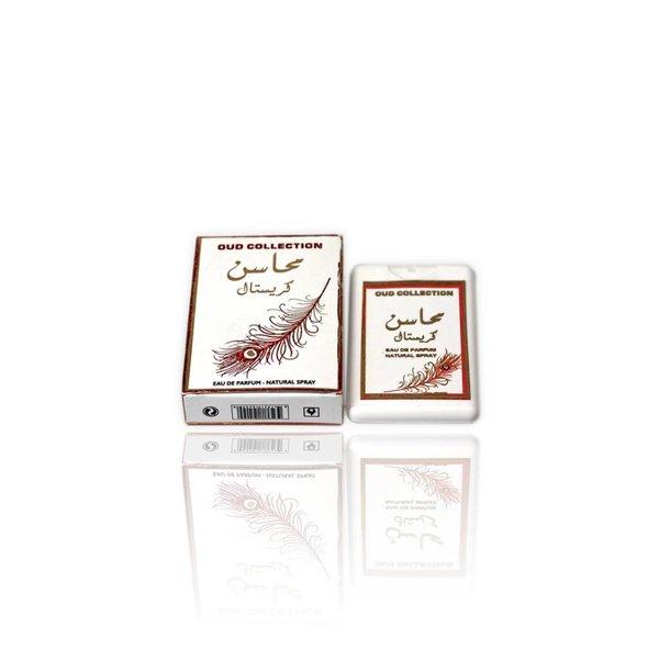 Ard Al Zaafaran Perfumes  Mahasin Crystal Pocket Spray 20ml by Ard Al Zaafaran