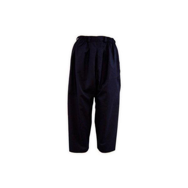 Comfortable and loose-fitting Islamic Sunnah pants in dark blue