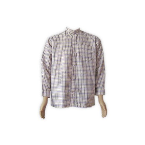 Hakim Yaka shirt - shirt with high collar
