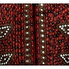 Orientalische Indische Spiegelweste - Dunkelrot