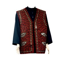 Mirror Vest - Dark Red