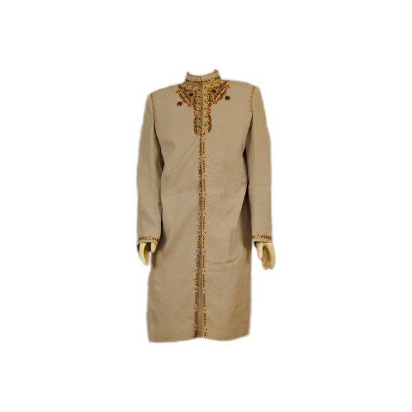 Sherwani - Oriental wedding waistcoat with embroidery